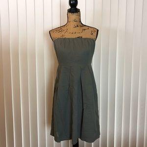 J. Crew Lorelei Strapless Dress